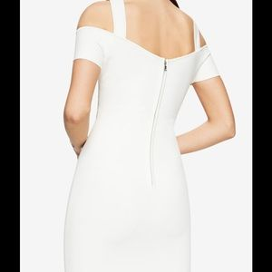 ecc6963a61b BCBGMaxAzria Dresses - BCBG Ally Cold Shoulder Halter Dress White