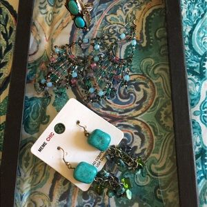 Jewelry - 2 pair of earrings and 1 ring