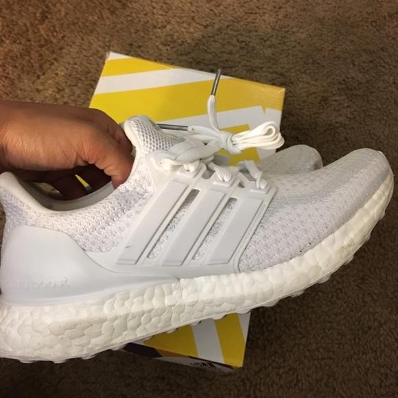 12c84eb2ceb35 Adidas Shoes - Adidas Triple White Ultraboost