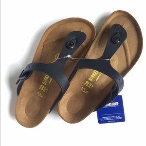 Birkenstock Shoes - NWT Birkenstock Gizeh Thong Sandal in Black (38)