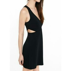 *Black Express Dress with Side Cutouts!*