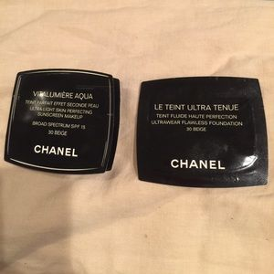 CHANEL Other - 2 NWT beige Chanel makeup samples