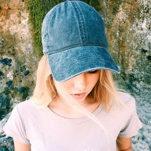 Brandy Melville Denim Blue Cap