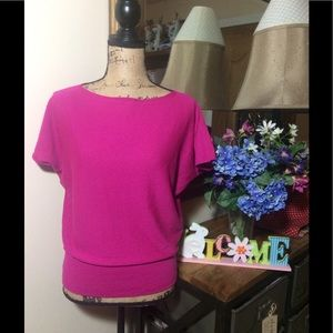 The Limited Tops - The Limited Pink Short Sleeve Top