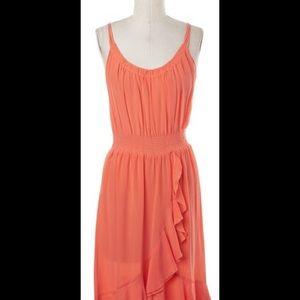 Rebecca Taylor Dresses & Skirts - 🆕 Rebecca Taylor silk ruffle cami dress
