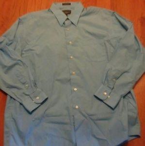 Haggar Other - Baby blue long sleeve men's dress shirt