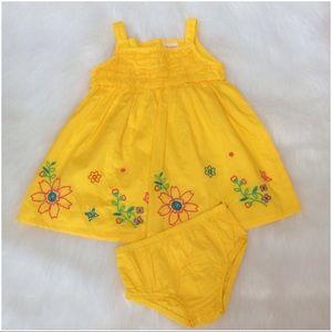Other - Sunshine Yellow 2 Piece Dress