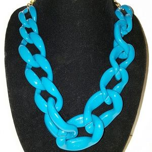Jewelry - Blue Link necklace