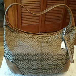 Women's Coach Tan Leather Hobo Bag on Poshmark