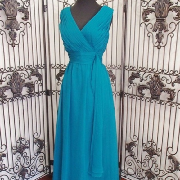 Eden Maids Dresses New Teal Oasis Formal Gown Dress 14 Poshmark