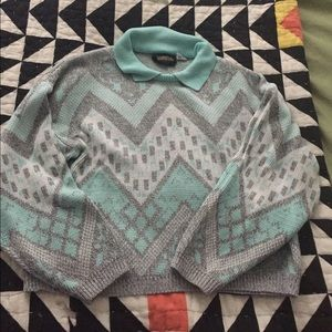 New Wave  80s sweater