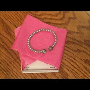 Honora Jewelry - Unique Gray Pearl and Crystal Cuff Bracelet