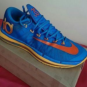 Nike Other - Nike Kd 6 Elite Photo Blue Orange #642838 400