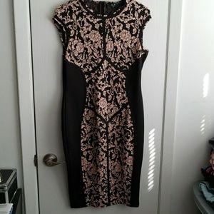 AX Paris Dresses & Skirts - A X Paris Floral Bodycon Dress