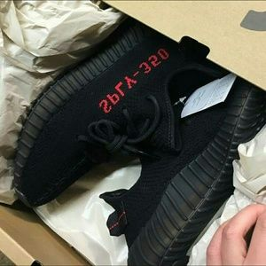 YEEZY 350 Boost V2 BRED SIZE 13 NEW IN BOX WITH TAGS