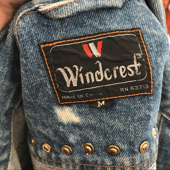 Urban Outfitters Jackets & Coats - Hand Painted Vintage Denim Jean Levis Jacket