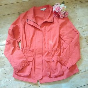 Coldwater Creek Jackets & Blazers - Cold water Creek Coral Spring Coat Size 14