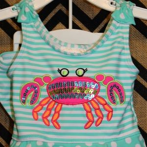 Flapdoodles Other - Flapdoodles 2 piece 2T swimsuit