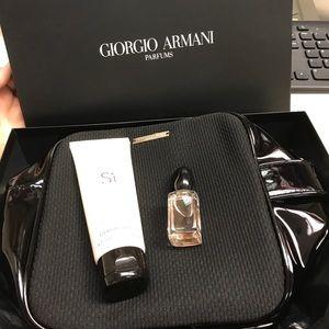 Armani Collezioni Other - Giorgio Armani parfum Si set lotion new
