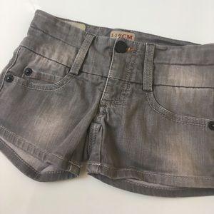 Imps & Elfs Other - Imps & Elfs Gray Denim Shorts Size 6