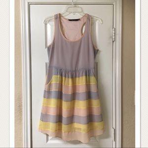 Ark & Co. Pastel Chiffon Dress