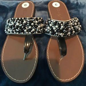 Beverly Feldman Shoes - Designer flip flops