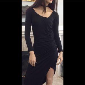 L'Atiste Dresses & Skirts - L'Atiste Black Bodycon Stretch Dress By Amy M