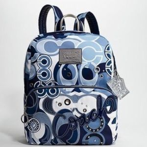 Rare! Limited addition Coach Poppi backpack