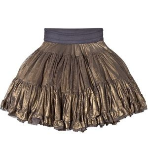 Molo Other - Molo Gold Bella Pavement Skirt