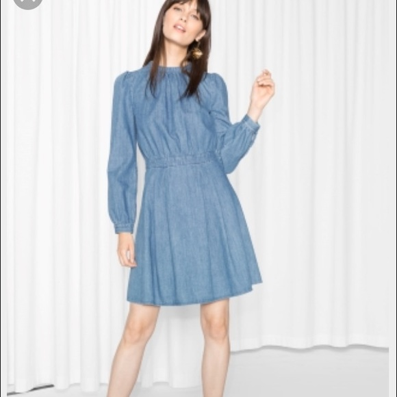 061ead097201b3 &other stories Dresses & Skirts - waisted denim dress from & other stories