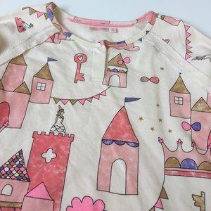 Billieblush Other - Billieblush Castle Print Thin Sweatshirt Size 10