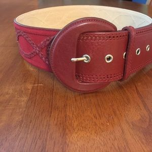 Another Line Inc Leather Belt