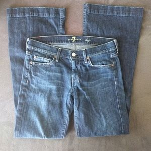 7 for all Mankind dojo jeans 27