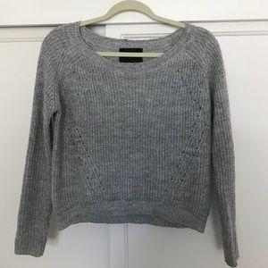Harlow Sweaters - Harlowe & Graham grey sweater