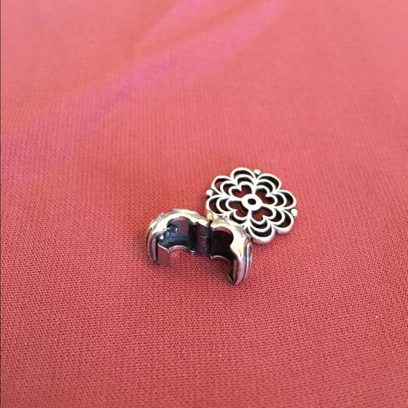 Pandora Clip On Earrings: Pandora Retired Hanging