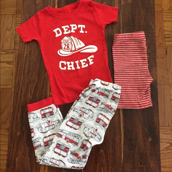 69444daa2 Carter's Pajamas | Carters 3piece Toddler Boys Pajama Set 5t | Poshmark