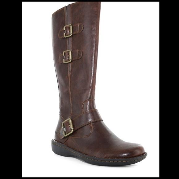 59f7b2087aeb b.o.c. Shoes - B.O.C. Women s Brown Cleo Boots Side Zip Size 8