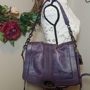 Cole Haan Handbags - Cole Haan Leather Valise Jenna Shoulder Bag