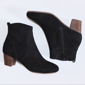 Sole Society Shoes - NWOT Sole Society Black Ankle Booties SZ 8