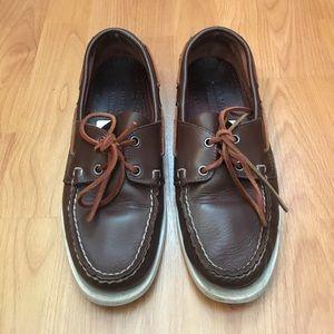 Sebago Other - Sebago Docksides Men's Leather Boat Shoes Size 9