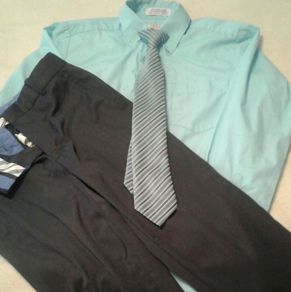 44 Off Izod Other Izod Boys Dress Shirt And Pants From