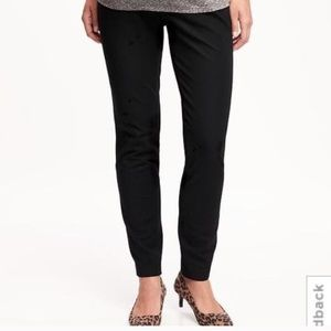 Old Navy Pants - Old Navy Black Full Panel Pixie Ankle Pants
