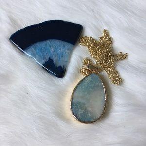 🚨1 LEFT 🚨Handmade stone necklace