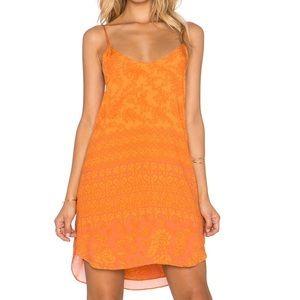 Novella Royale Dresses & Skirts - Novella Royale Anita Mini Dress in Tangerine
