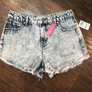 Charlotte Russe Pants - NWT high waisted jean shorts