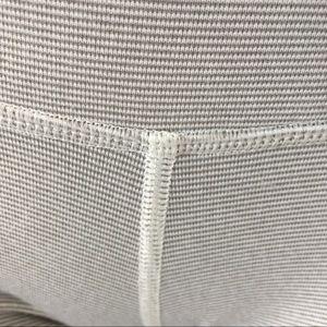 {lululemon} striped grey wunder unders