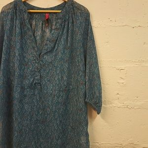 Pure Energy Tops - Chiffon Tunic - Pure Energy - Size 2