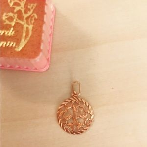 Jewelry - Lovely Rose Gold toned Libra Pendant