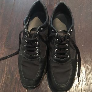 Hogan  Other - Hogan Black Leather Sneaker Shoes