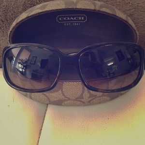 Coach Rowan Tortoise Sunglasses